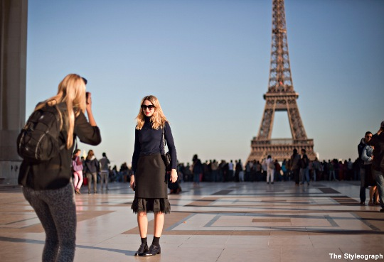 street style photographers at work paris fashion week