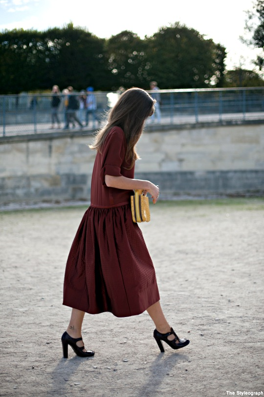 CHLOÉ Street Style Paris Fashion Week Alma Jodorowsky