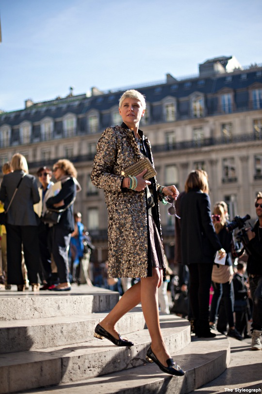 Street Style Elisa Nalin Paris Fashion Week