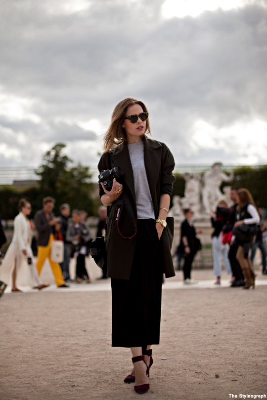 FashnChips Christine Street Style Outfit Paris
