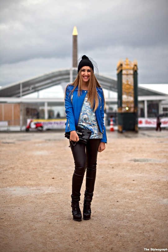 Street Style Jardin de Tuileries Fashion Week Paris