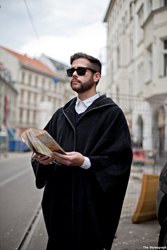 Cape for Men Street Style Berlin