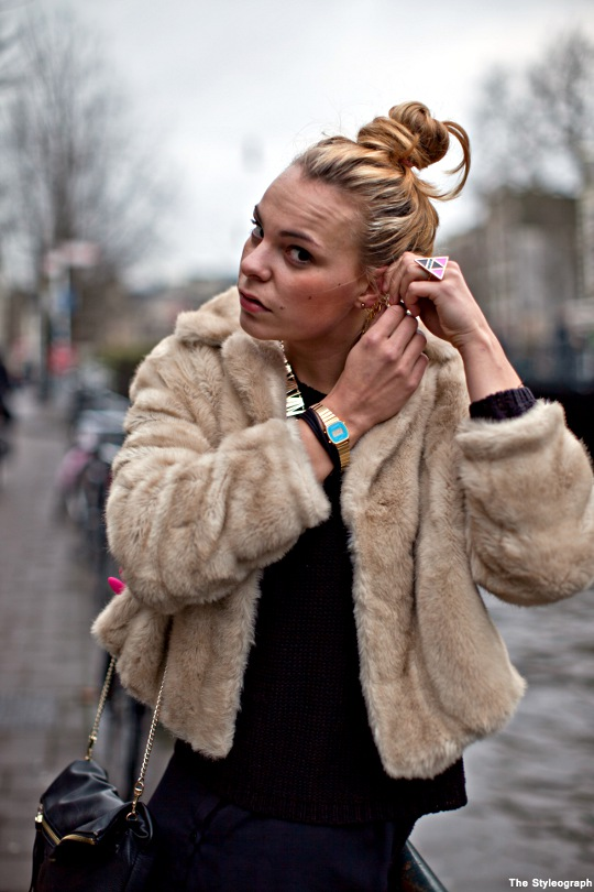 Streetstyle Amsterdam accessories women
