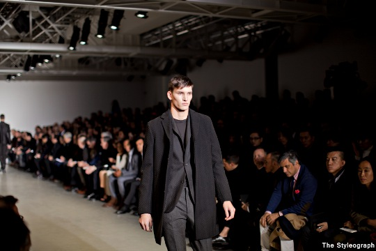 Calvin Klein Men's Fall 2013 Milano