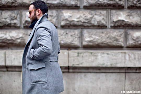 coat for men street style pars