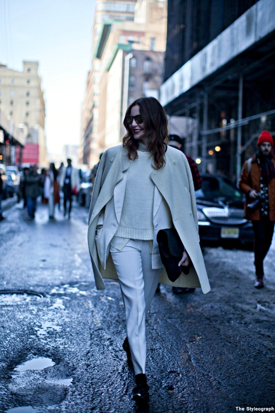 ece sukan streetstyle new york fashion week