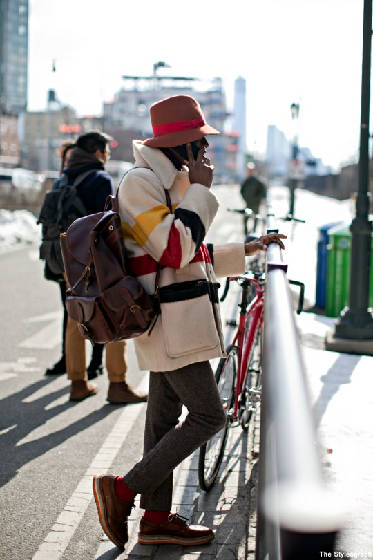 Streetstyle New York Fashion Week Men