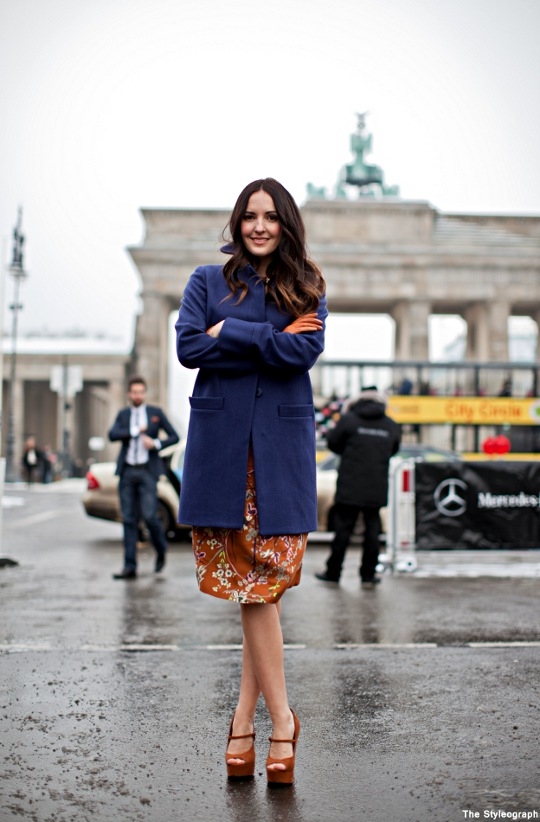 Johanna Klum Berlin Fashion Week Streetstyle