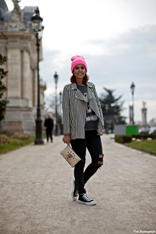 Collage Vintage Street Style Outfit