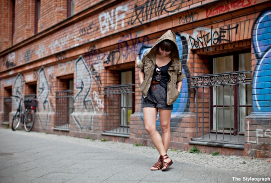 summer shorts jacket streetstyle berlin blog