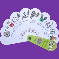 Positive Praise Fan Set of 10