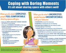 "Coping with Boring Moments - Poster (large 24"" x 36"")"