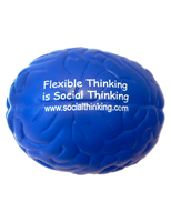 Foam Rubber Social Thinking Brain