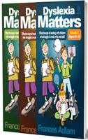 Dyslexia Matters: Set (Book 1, 2 & 3)