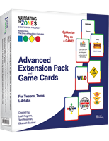 Advanced Extension Pack and Game Cards for Navigating The Zones