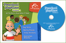 Preschool Playtime CD Volume 1