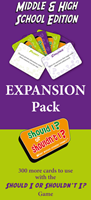 Should I? or Shouldn't I? Secondary School Expansion Pack