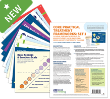 Social Thinking Frameworks Collection |Core Practical Treatment Frameworks Set 1