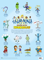 """Superflex and the Thinkables! Poster (large 24"""" x 36"""")"""