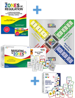 The Zones of Regulation Book and Game Bundle