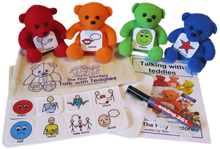 Talk with Teddies Classroom Communication Kit
