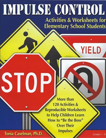 Impulse Control Activities & Worksheets for Elementary School Students with CD
