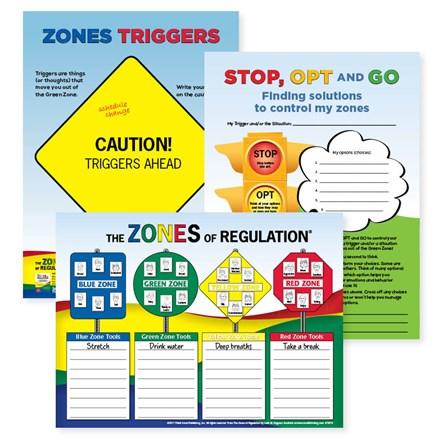 Zones of Regulation 3-Poster Set