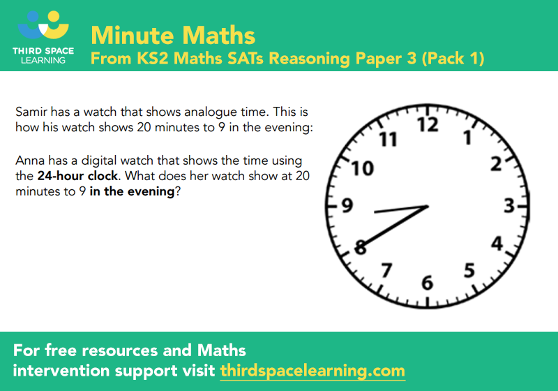Sats reasoning 3 pack 1 q 3