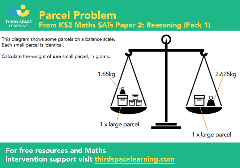 Sats reasoning 2 pack 1 q11