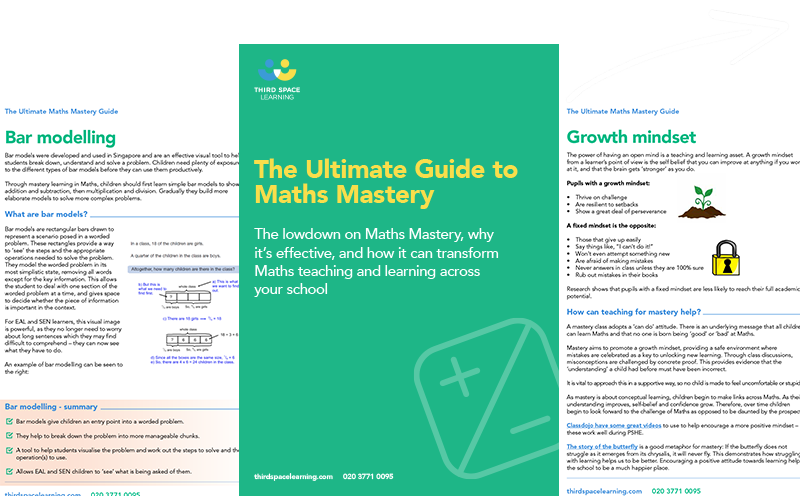 The Ultimate Guide to Maths Mastery Cover Image