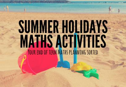 End of term maths activities  1