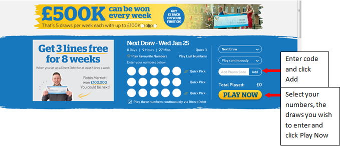 Lottery Draw Times, Rules & Winners - The Health Lottery