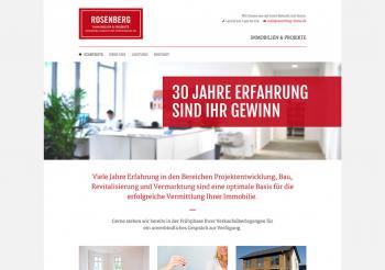 Rosenberg Immobilien Website