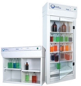 Ventilated Chemical Storage