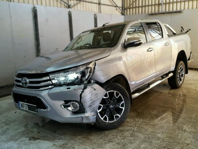Image for a TOYOTA HILUX 2017 4 Door Pickup