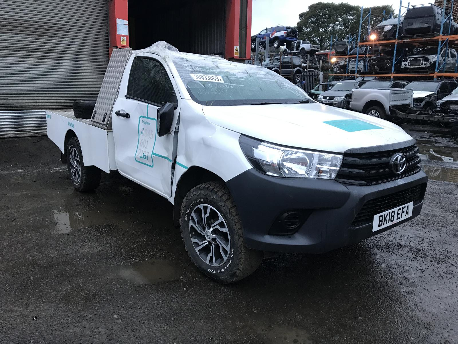 Image for a TOYOTA HILUX 2018 2 Door Pickup
