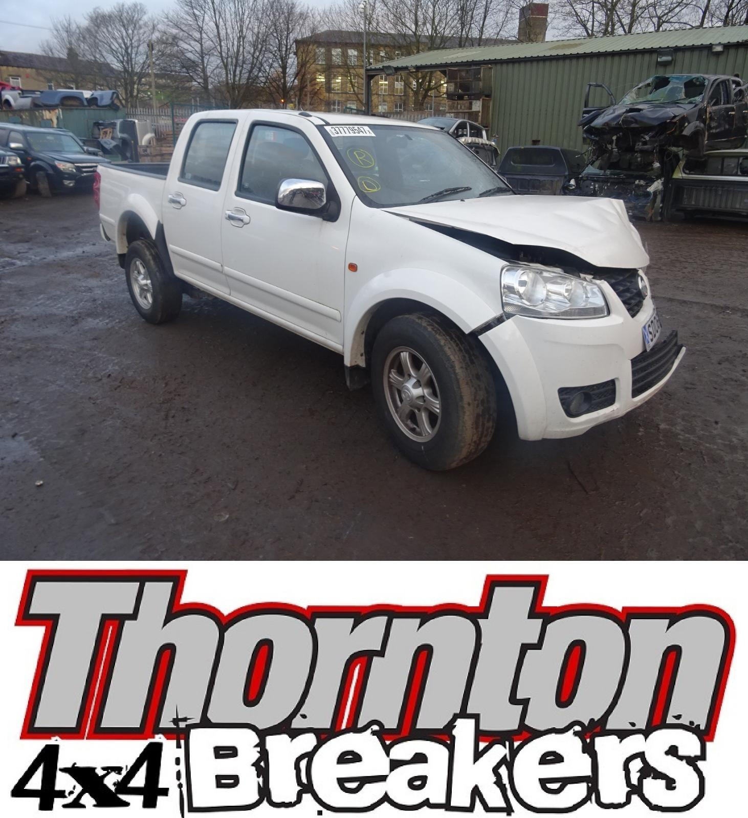 Image for a GREAT WALL MOTORS STEED 2012 4 Door Pickup