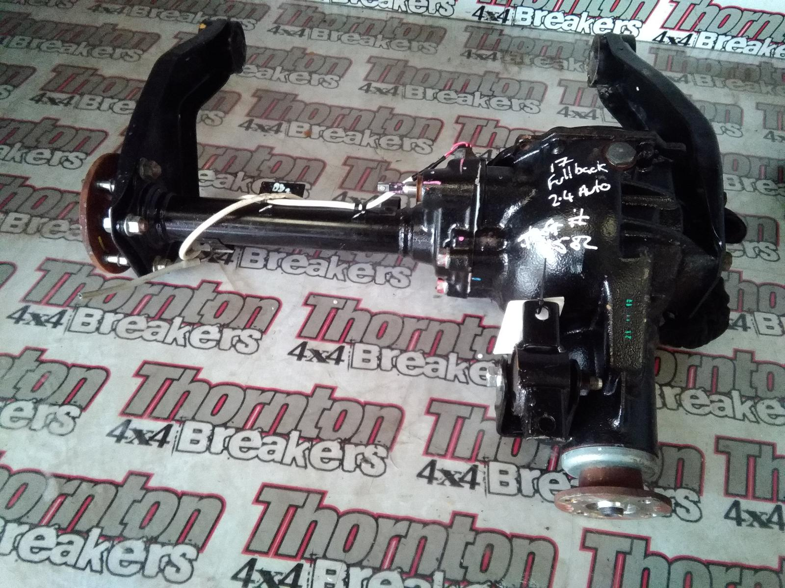 View Auto part Differential Assembly FIAT FULLBACK 2017