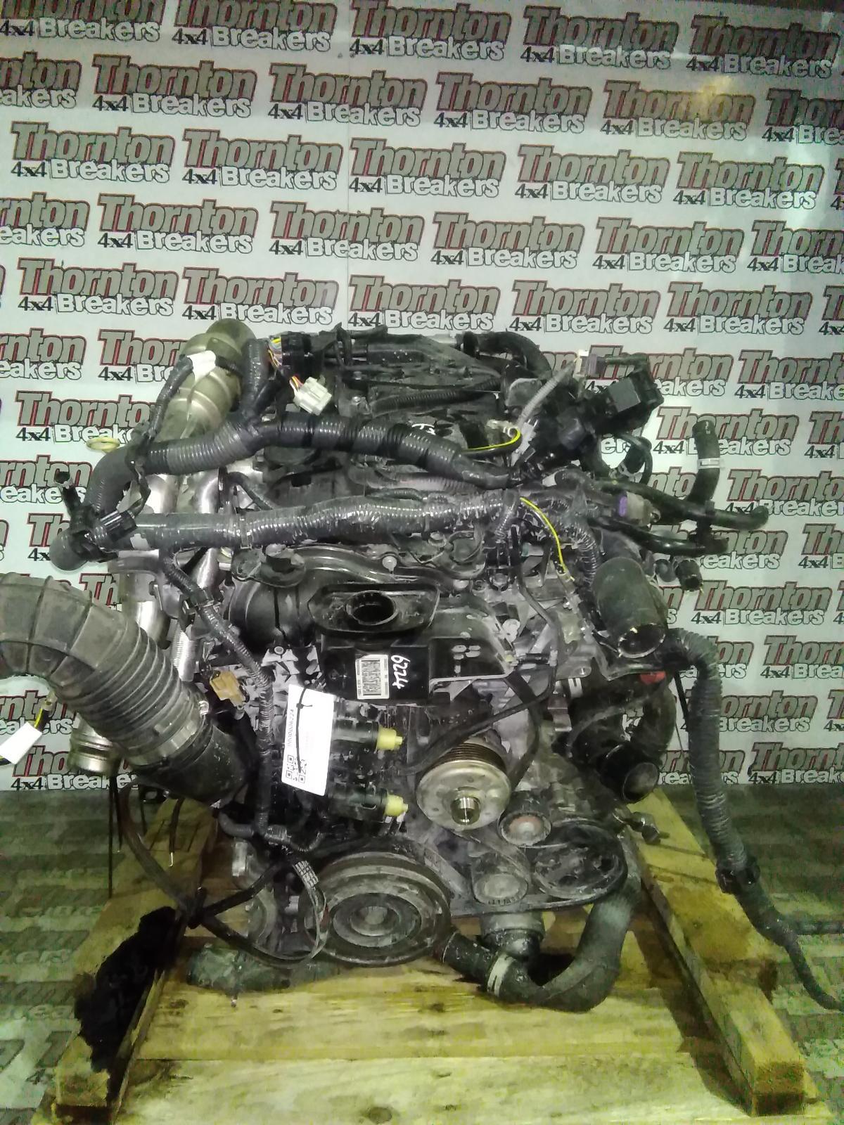 Image for a 2017 NISSAN NAVARA 2.3 Diesel  Engine