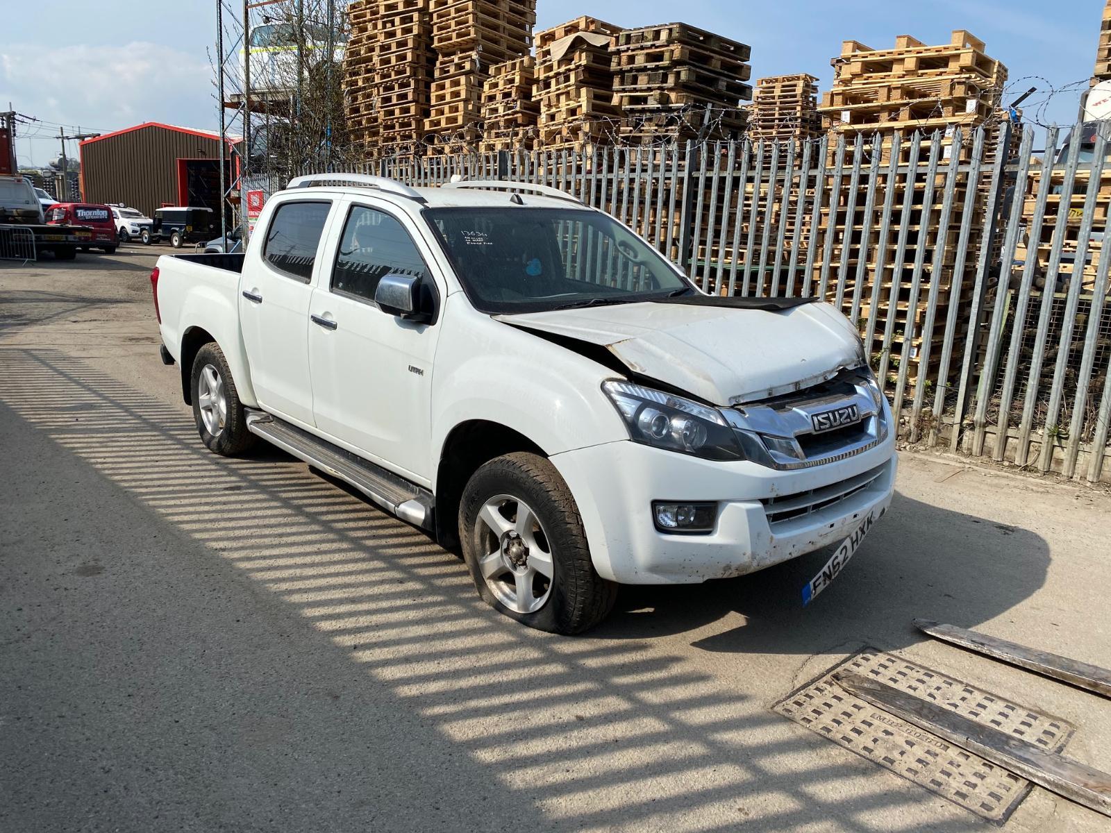 Image for a ISUZU D-MAX 2012 4 Door Pickup