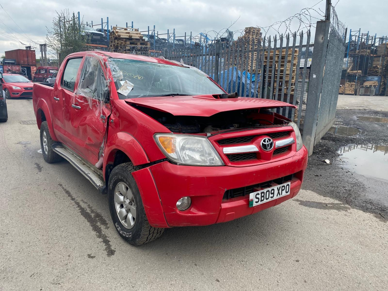 Image for a TOYOTA HILUX 2009 4 Door Pickup