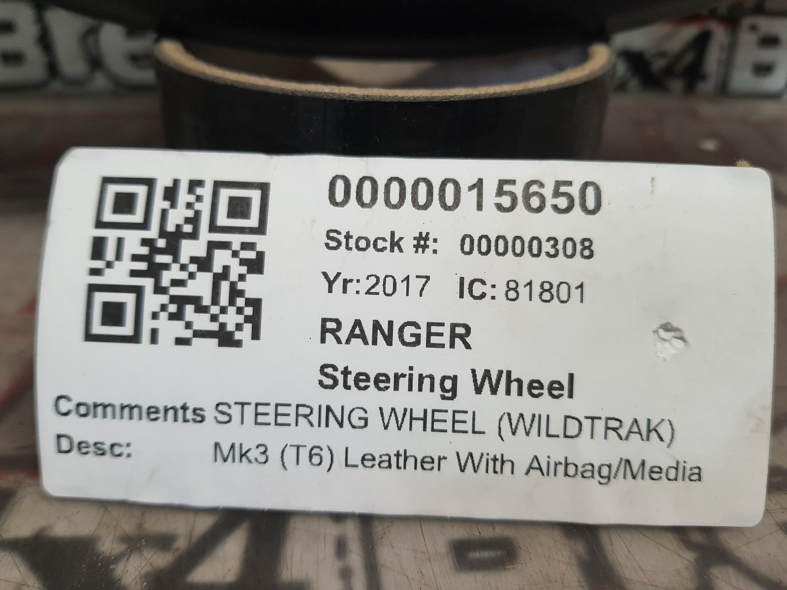 View Auto part Steering Wheel FORD RANGER 2017