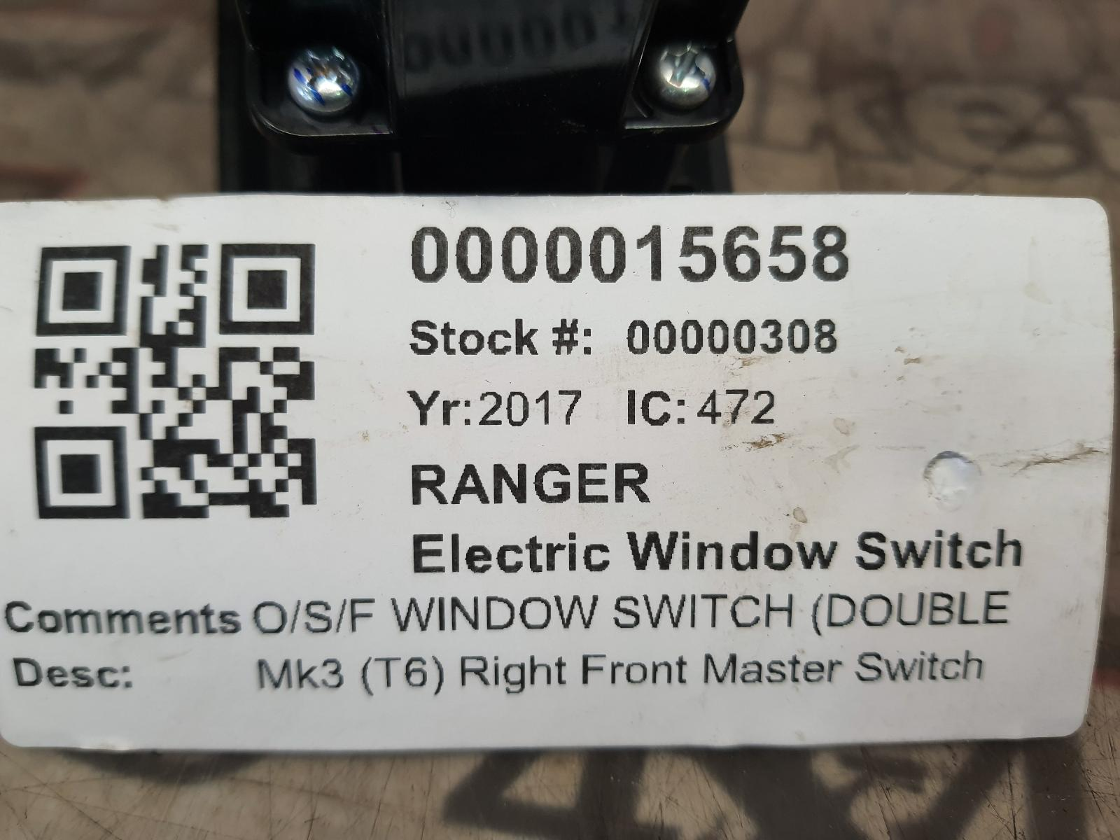 View Auto part Elect. Window Switch FORD RANGER 2017