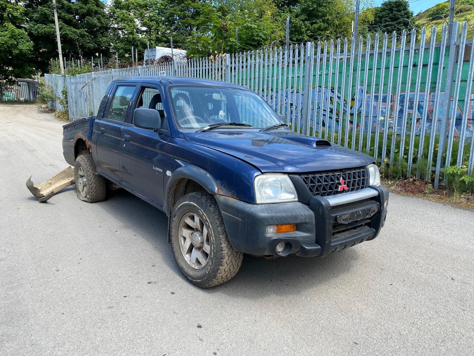 Image for a MITSUBISHI L200 2003 Unknown Pickup