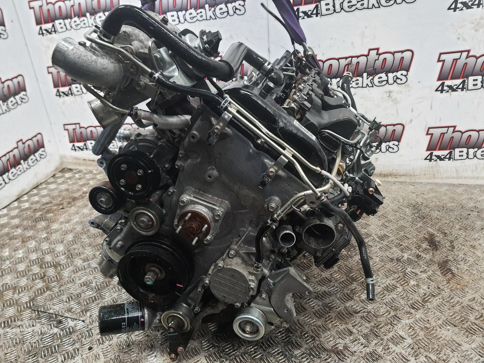 Image for a 2017 FIAT FULLBACK 2.4 Diesel 4N16 Engine