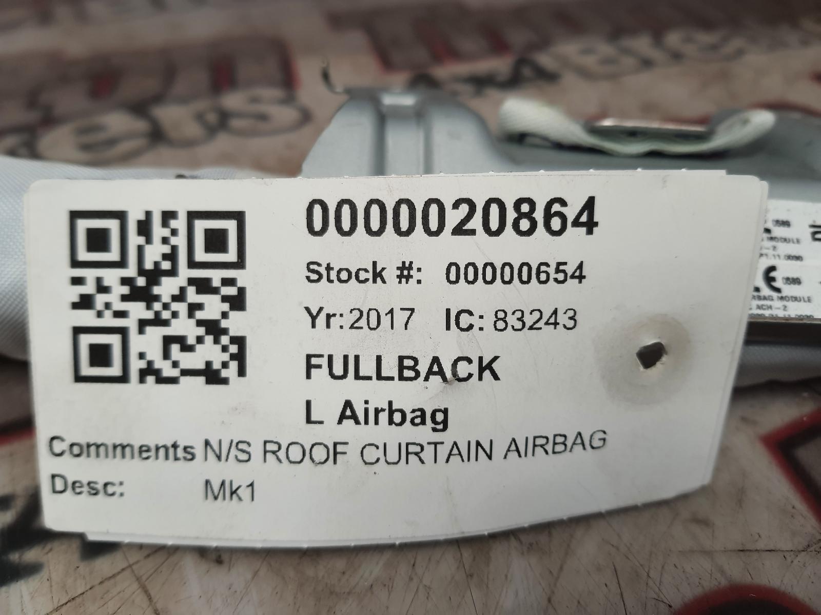 View Auto part L Air Bag FIAT FULLBACK 2017