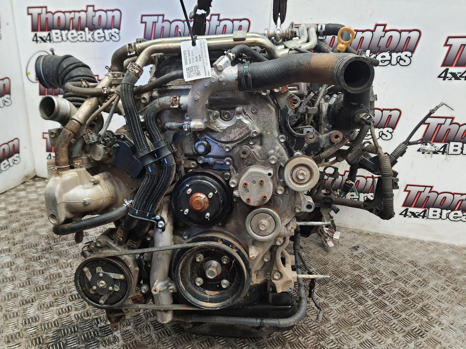 Image for a 2016 TOYOTA HILUX 2.4 Diesel 2GD-FTV Engine