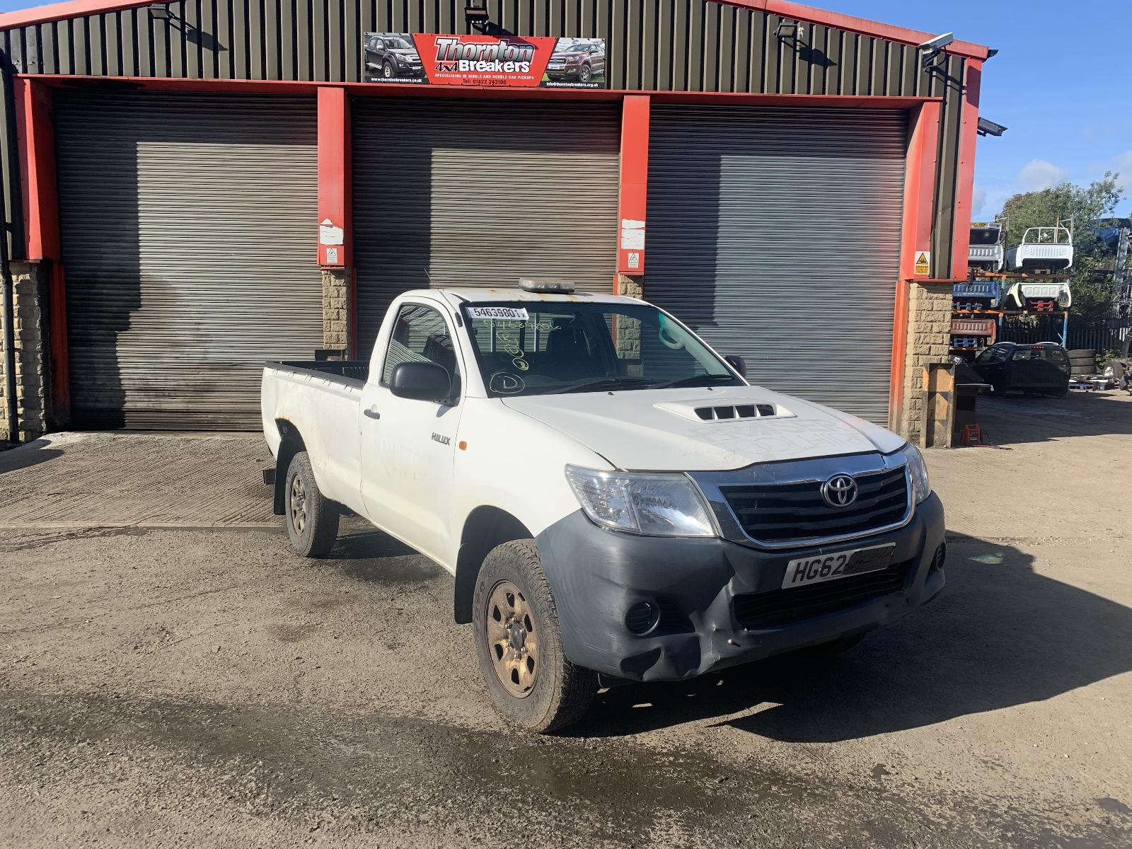 Image for a TOYOTA HILUX 2012 2 Door Pickup