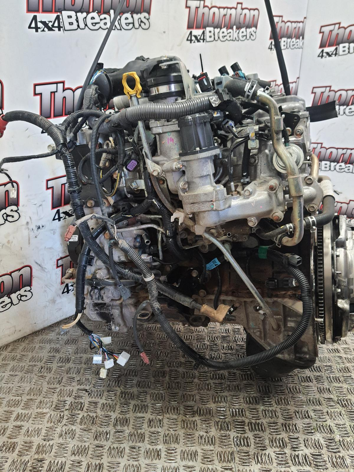 View Auto part Engine ISUZU D-MAX 2016