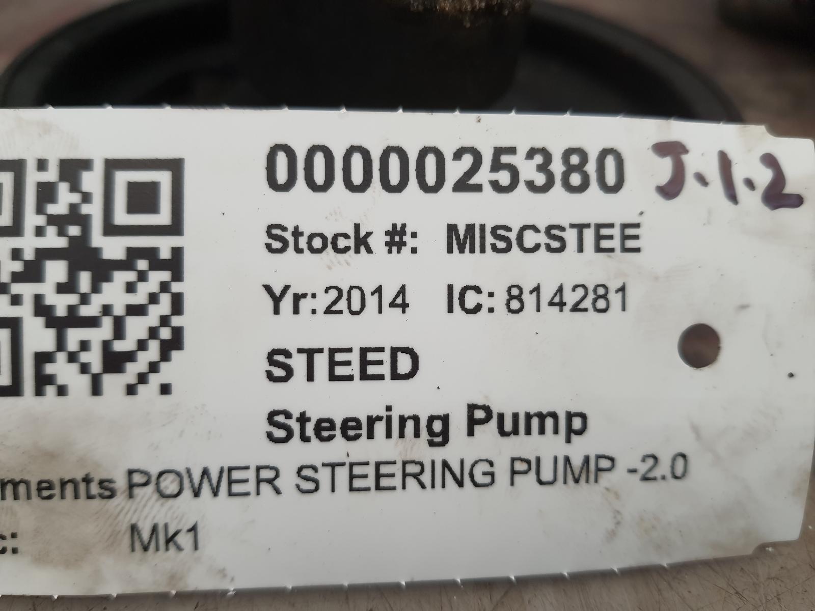 View Auto part Steering Pump GREAT WALL MOTORS STEED 2014